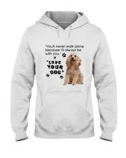 Poodle With You Hooded Sweatshirt thumbnail