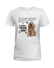 Poodle With You Ladies T-Shirt thumbnail