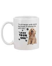 Poodle With You Mug back