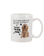 Poodle With You Mug front