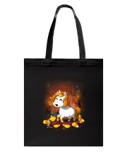 Unicorn and candy Tote Bag thumbnail
