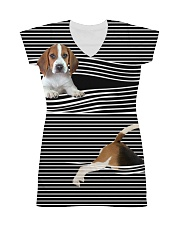 Beagle Striped  All-over Dress thumbnail
