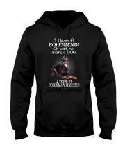 Doberman Pinscher Boyfriend 2006 Hooded Sweatshirt thumbnail