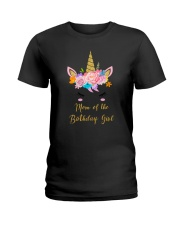 Mom of the birthday girl 150319 Ladies T-Shirt tile