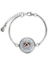 Bulldog Broken 1606 Metallic Circle Bracelet thumbnail