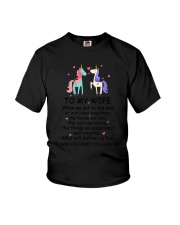 Unicorn To my wife 1807 Youth T-Shirt thumbnail