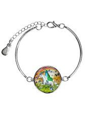 Unicorn Fairy  Metallic Circle Bracelet thumbnail