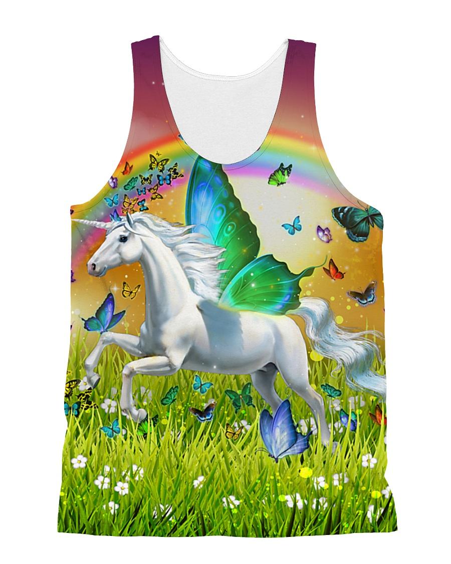Unicorn Fairy  All-over Unisex Tank