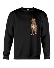 Pitbull - Leave paw prints on your heart 1906P Crewneck Sweatshirt thumbnail