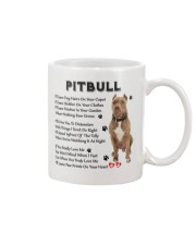 Pitbull - Leave paw prints on your heart 1906P Mug front