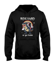 Unicorn and Black cat Hooded Sweatshirt thumbnail