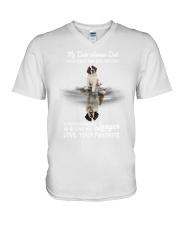 Saint Bernard - Turn back the clock 1806P V-Neck T-Shirt thumbnail