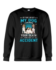 Beagle Accident Crewneck Sweatshirt tile