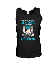 Beagle Accident Unisex Tank thumbnail