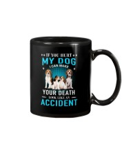 Beagle Accident Mug tile
