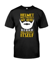 Beard protects itself 2106L Classic T-Shirt front