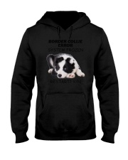 Border collie error 1606L Hooded Sweatshirt tile