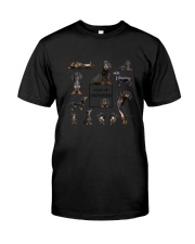 A Day Of Dachshund  Classic T-Shirt thumbnail