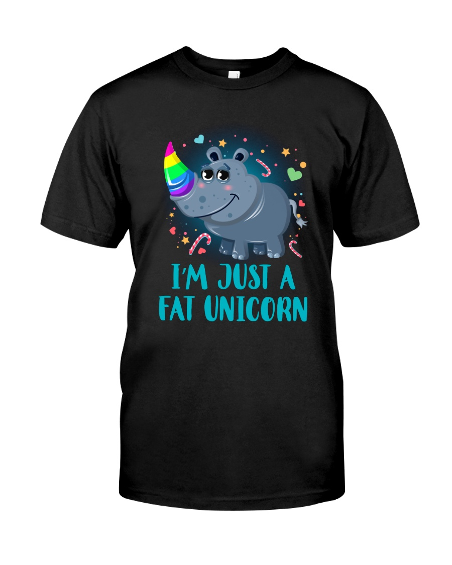 Fat Unicorn Classic T-Shirt