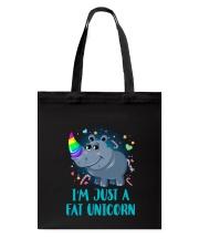Fat Unicorn Tote Bag thumbnail