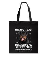 Rottweiler Stalker  Tote Bag thumbnail