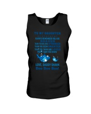Daddy shark - To my daughter 1806L Unisex Tank thumbnail