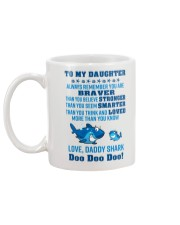 Daddy shark - To my daughter 1806L Mug back