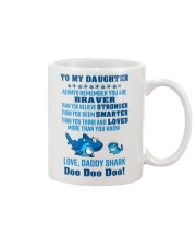 Daddy shark - To my daughter 1806L Mug front