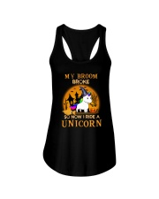 Unicorn halloween 1008 Ladies Flowy Tank thumbnail