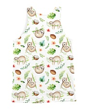 Sloth Coconut  All-over Unisex Tank back