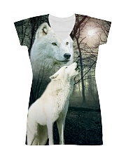 Wolf Couple 1606 All-over Dress thumbnail