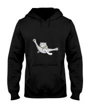 Cat - Just break dancing 1806D Hooded Sweatshirt thumbnail