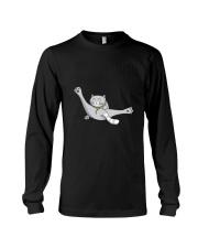 Cat - Just break dancing 1806D Long Sleeve Tee thumbnail