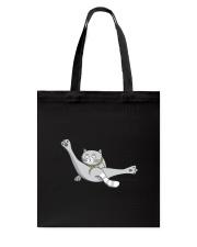 Cat - Just break dancing 1806D Tote Bag thumbnail