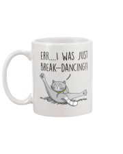 Cat - Just break dancing 1806D Mug back