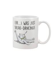 Cat - Just break dancing 1806D Mug front