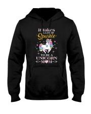 Unicorn Mom sparkle 1409 Hooded Sweatshirt thumbnail