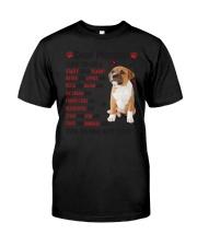 Staffy - Dear Mommy 1406D Classic T-Shirt thumbnail