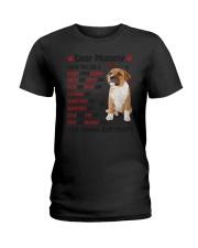 Staffy - Dear Mommy 1406D Ladies T-Shirt thumbnail