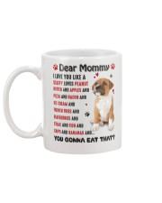 Staffy - Dear Mommy 1406D Mug back