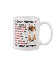 Staffy - Dear Mommy 1406D Mug front