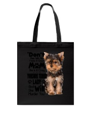 Yorkshire Terrier Crazy Lady 2006 Tote Bag thumbnail