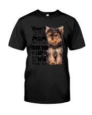 Yorkshire Terrier Crazy Lady 2006 Classic T-Shirt thumbnail