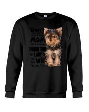 Yorkshire Terrier Crazy Lady 2006 Crewneck Sweatshirt thumbnail