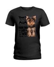 Yorkshire Terrier Crazy Lady 2006 Ladies T-Shirt thumbnail
