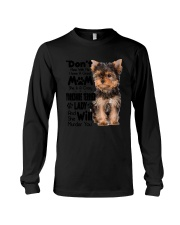 Yorkshire Terrier Crazy Lady 2006 Long Sleeve Tee thumbnail
