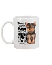 Yorkshire Terrier Crazy Lady 2006 Mug back