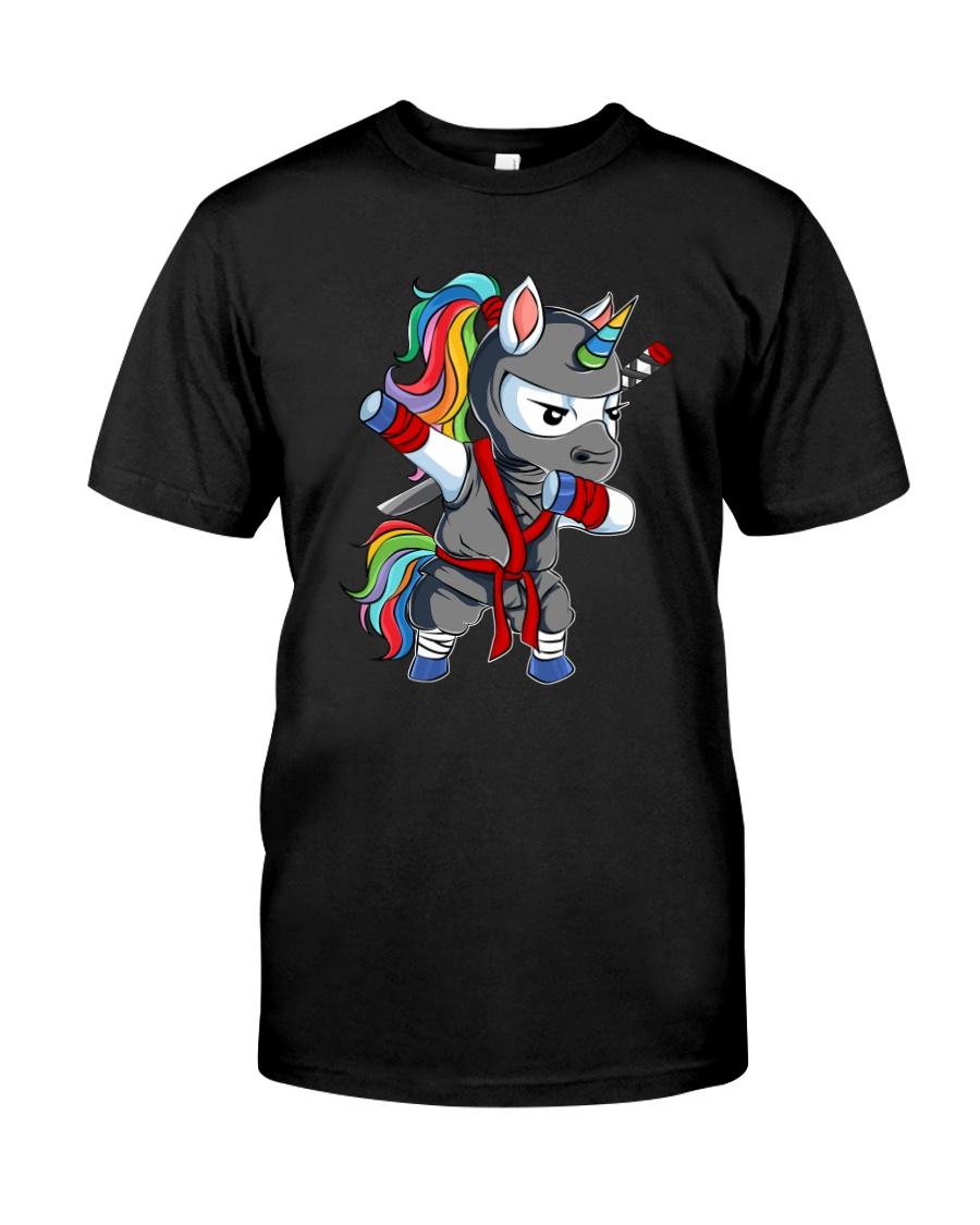 Unicorn Ninja 2308 Classic T-Shirt