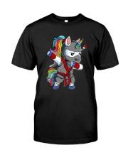 Unicorn Ninja 2308 Classic T-Shirt front