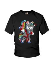 Unicorn Ninja 2308 Youth T-Shirt thumbnail